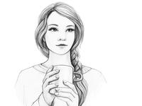 Tea Time. Book illustration