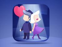 A Maze In Love - App Store Icon