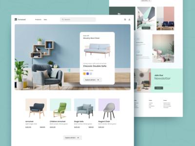 Furniture Interior Shop Website