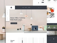 Lamp Light Landing Page