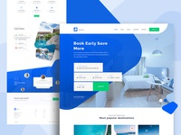 Hotel Booking Landing page
