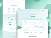 Salto - Feature Landing Page Full Preview
