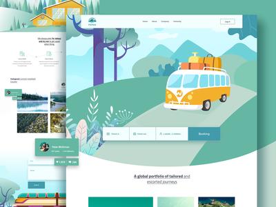 Marino - Travel landing page