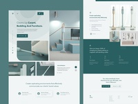 Vacuum Cleaner Product Landing Page