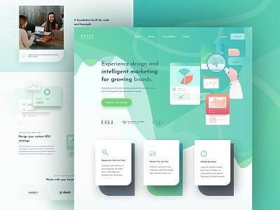 Barex - Seo Landing Page product design seo landing page landing page ux design seo services search engine optimization seo digital marketing agency