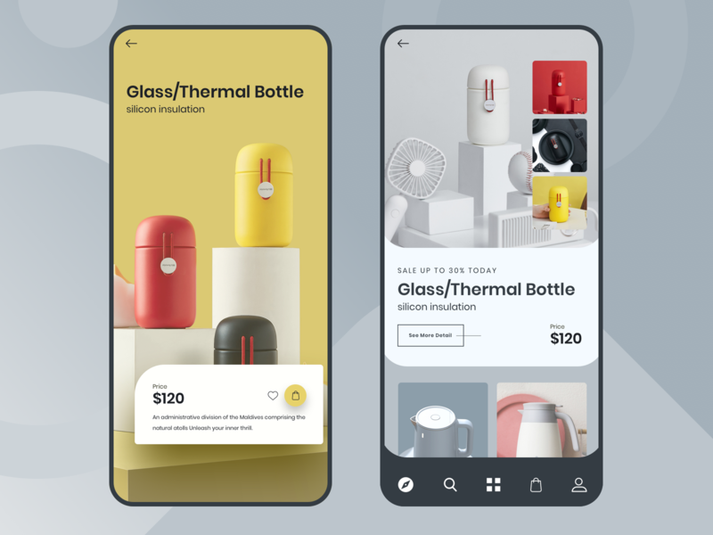 Product Shop Mobile App UI visual design interaction design ui ux ui product shop interfacedesign shop app mobile app