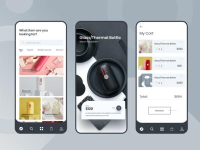 Product Shop Mobile App UI