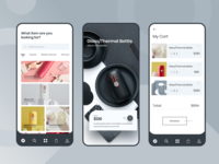 Product Shop Mobile App UI