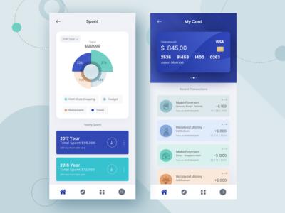 Financial Mobile Wallet App