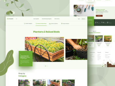 Growgarden - Planters & Raised Beds Inner Page