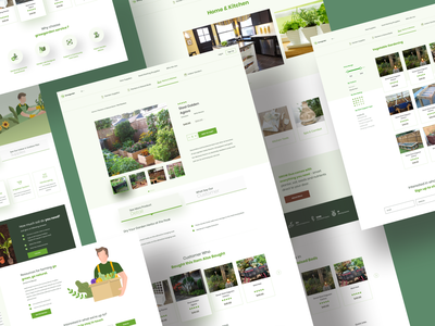 Growgarden - Product & Detail Page product shop ux design branding typography gardener visual design ux ui webdesign landing page gardenscapes gardening detailpage product detail page product page growgarden