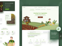 Growgarden - Landing Page
