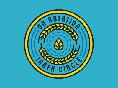 On Rotation - Inner Circle dallas craft circle barley hoplet taproom tap hops brewpub brewery brew beer