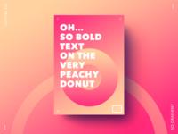 So peachy poster
