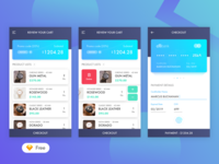 Daily UI #02 Checkout - Freebies