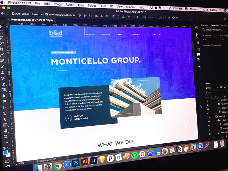 [WIP] Free Real Estate PSD - Coming Soon 🔥 real estate wip building template theme freebie soon coming gradient psd free