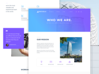 About Us Page - Architecture Concept