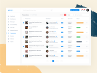 Dashboard - Transactions & Reviews Page