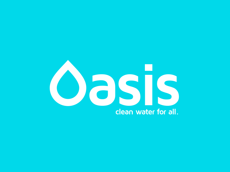 Oasis - Logo Design by John Pascarella | Dribbble | Dribbble Oasis Water Logo