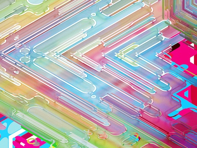 Fusion Cube Crop fusion cube lines pattern abstract 3d
