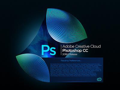 Photoshop Splash Screen concept concept illustrator audition indesign lightroom effects after photoshop cloud creative cc adobe