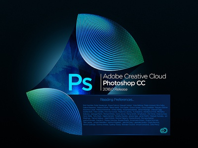Photoshop Splash Screen concept concept illustrator audition indesign lightroom effects after photoshop cloud creative cc adobe
