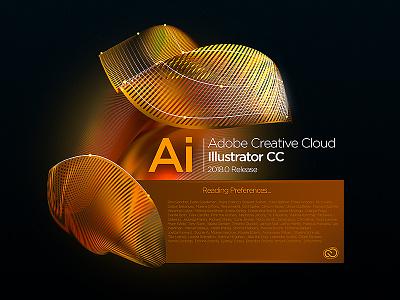 Illustrator Splash Screen concept concept illustrator audition indesign lightroom effects after photoshop cloud creative cc adobe