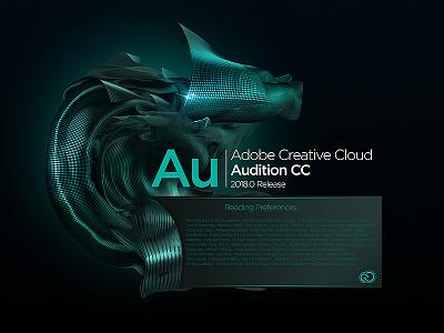 Audition Splash Screen concept concept illustrator audition indesign lightroom effects after photoshop cloud creative cc adobe