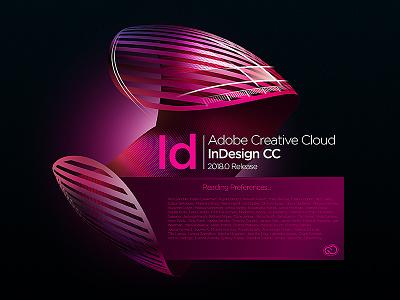 InDesign Splash Screen concept concept illustrator audition indesign lightroom effects after photoshop cloud creative cc adobe