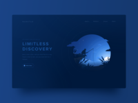 Exploration - Landing Header Illustration
