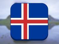Freebie: ichik umer's fun with flags (Iceland!) [.psd]