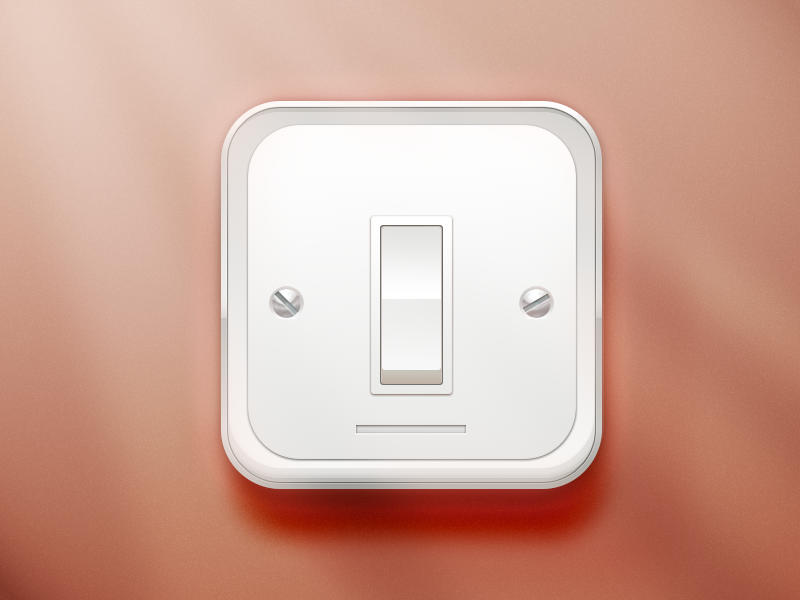 Pokerface lightswitch fun practice lightswitch switch plastic button appicon