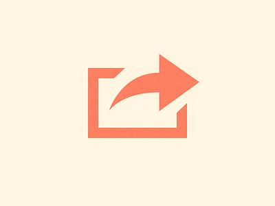 Share icon icon fun glyph practice 5 min