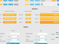 Freebie: Aviasales Map UI Kit [.sketch]