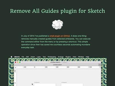 Sketch Plugin Case portfolio plugin sketch case