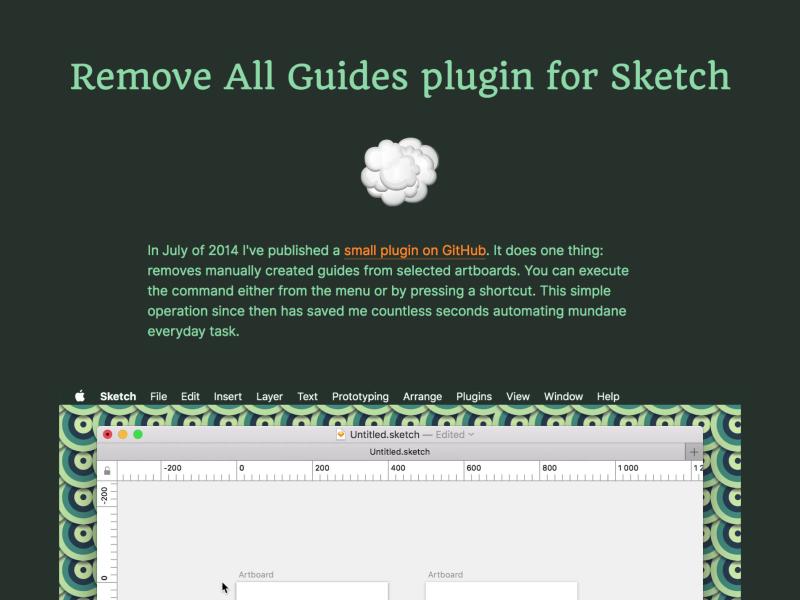 Sketch plugin case