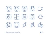 Camera App Icon Set 01
