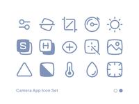 Camera App Icon Set 02