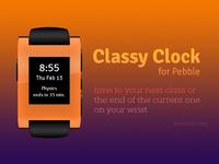 Classy Clock Promo Banner