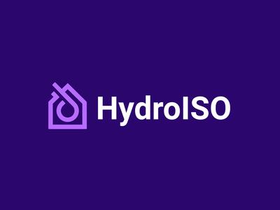 Hydro housekeeper household logotype dropbox hydro isolation worker drop hauz home house