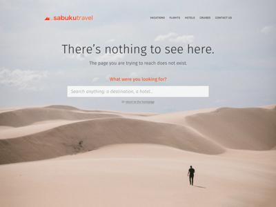 DailyUI 008 - 404 Page 008 dailyui dailyui008 404 404 page desert webdesign website