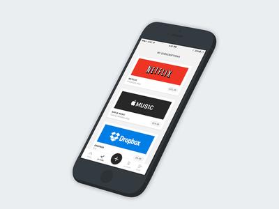 Subscription App Idea