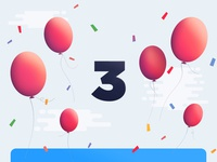 Balloons - Email Hero