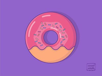 Donut sweet cookie minimal doughnut donut