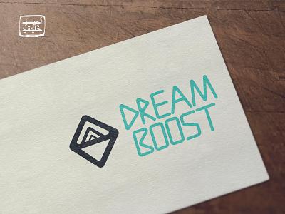Dream Boost Logo illusion boost dream game logotype logo