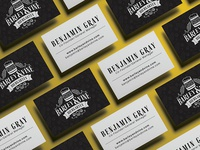 Business Cards // Barley & Vine