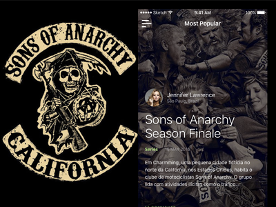 Sons of Anarchy Mobile Article dark series article ios sons of anarchy app mobile