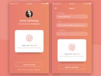 Aurora Login App