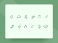 🌿 Agriculture Icon Set  🌿