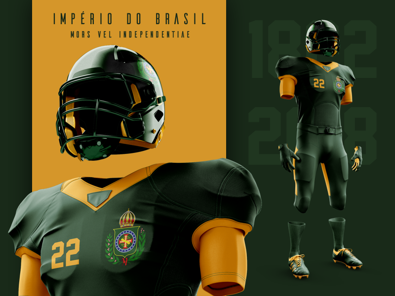 Football    empire of brazil 1x